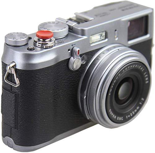 JJC gewölbte Oberfläche Metall Weichen Auslöseknopf für Fujifilm X100T X100X100S X10X20X30X-E1X-E2Xpro STX-2x-t10Nikon Df M2F3Sony RX1R II RX10II