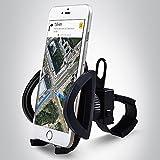 Bergsteiger Fahrrad Handyhalterung für alle Smartphone, Handyhalter, iPhone X 8 7 6S/6S Plus 6/6Plus 5S/4S Galaxy S5/S4/S3, auch für Kinderwagen & Motorrad, Original Fahrrad-Zubehör
