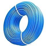 Zeqeey Bobine de Fil rond en nylon pour Coupe-bordure débroussailleuse Diamètre 1,6 mm Longueur 100 m, Fil de Coupe de Remplacement Ligne de Trimmer