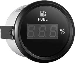 SAMDO Digital Fuel Level Gauge Universal Fuel Level Meter 52mm 0-190ohm Signal 12V/24V