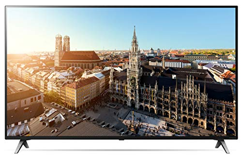 LG 49SM8500PLA.AEUD - Smart TV NanoCell 4K UHD de 123 cm, 49', con Alexa Integrada, Procesador Inteligente Alpha 7 Gen. 2, Deep Learning, 100% HDR y Dolby Atmos, Color Negro