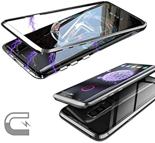 Cepsesuar-Samsung Galaxy S9 Plus Kılıf Mıknatıslı 360 Tam Koruma Devrim Kapak Gri