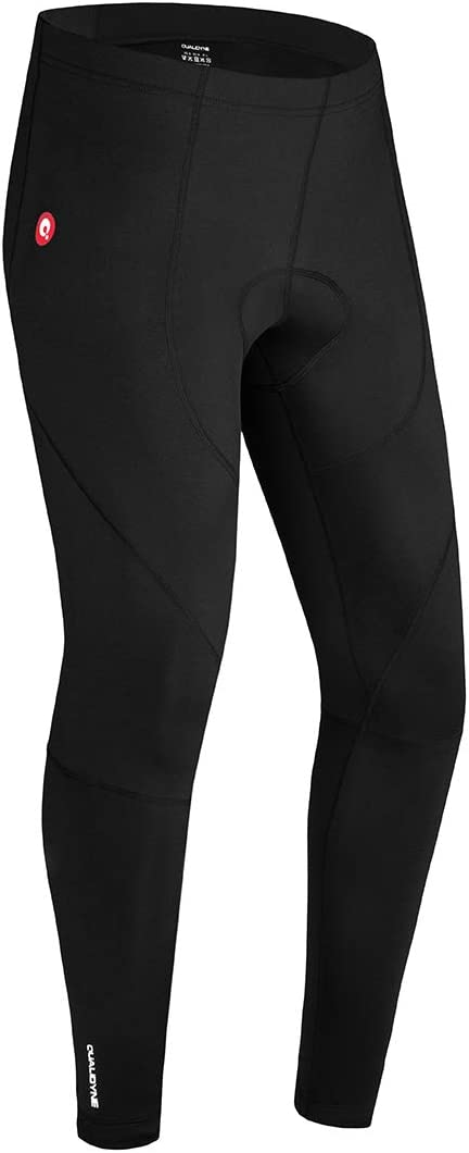 qualidyne Men's Cycling Bike Pants Time sale 3D Thermal Cycl Max 73% OFF Winter Padded
