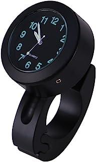 "SEDOOM Universal 7/8""-1"" Impermeable Moto Soporte para Manillar Reloj Glow Watch"