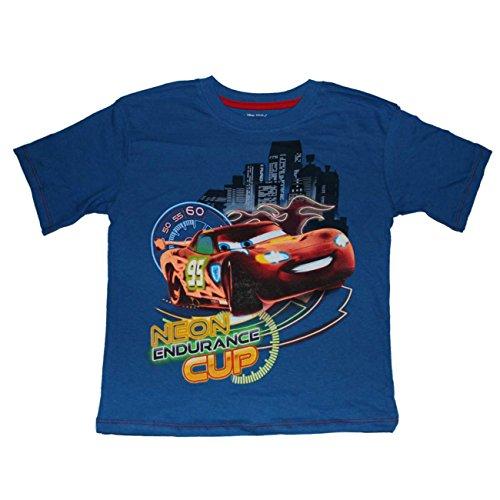Disney Pixar Cars Neon Endurance Cup Boys T-Shirt 4-7 (7)