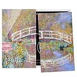 Bilderwelten Cubre encimeras para Cocina Claude Monet - Bridge Monet's Garden, 60x52 cm