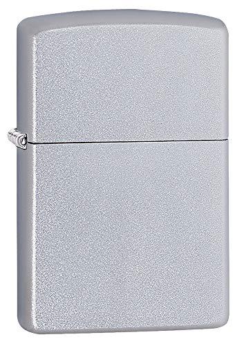 Zippo Satin Chrome Lighter