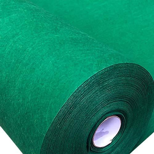 ZXC Hoja de Fieltro Tela de Fieltro 85cm de Ancho Telas Manualidades para Patchwork Costura DIY Artesanías de Bricolaje Manualidades 1m Vendido por Metro(Color:Verde Oscuro)
