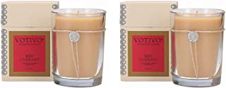 Votivo Aromatic Candle - Red Currant, 2-Pack