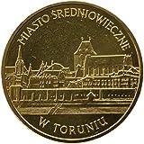 コイン収集 ポーランド2007 Torun中世の古代都市記念コイン2 ZLI 27mm アメリカの古いレプリカ1ドル硬貨-手作りのアメリカのコイン