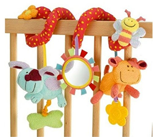 New Baby Cot Spiral Activity Han...