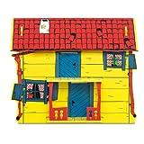 Micki & Friends 44-3753-00 - Pippi Langstrumpf Spielhaus Puppenhaus Villa Kunterbunt - Veranda -...