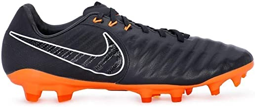 Nike Legend 7 Pro FG Men Soccer Cleats-Black Orange Size: 9