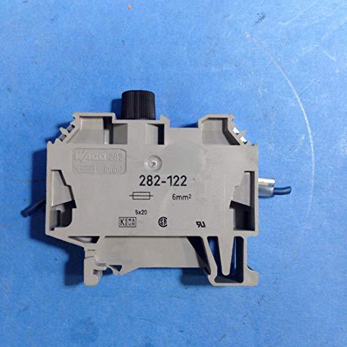 Wago Sicherungsklemme 6 qmm, 282-122