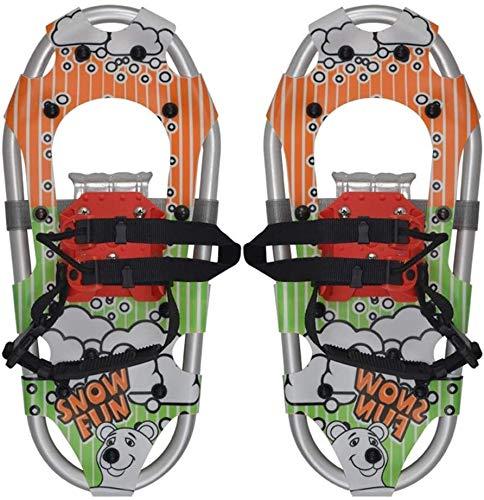 SOAR Raquetas Nieve Zapatos para Caminar de Nieve para niños: Zapatos de Nieve Snowboard, Zapatos de Escalada de esquí Alpino Ligero Mejor Regalo para niños/niños (Color : #2)
