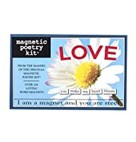 [マグネティックポエトリー]Magnetic Poetry Love Kit Words for Refrigerator Write Poems and Letters on the Fridge Made in [並行輸入品]
