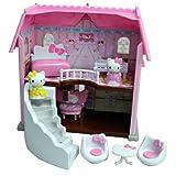 Toho 290328 - Casa de Princesa, diseño de Hello Kitty