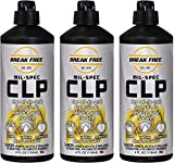 Break-Free CLP-4 Cleaner Lubricant Preservative Squeeze Bottle (4 -Fluid Ounce). 3-Pack