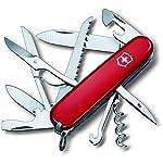 Victorinox Huntsman Swiss Army Knife Red Blister 8