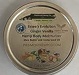 Hemp Seed Oil Herbal Body Moisturizer with Ginger/Vanilla