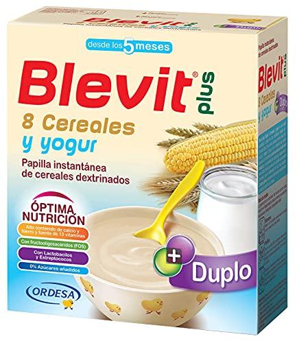 Blevit Plus Duplo 8 Cereales y Yogur - Papilla de