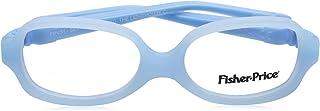 Fisher-Price FPV31 Rectangular Medical Glasses for Kids - Light Blue