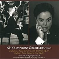 Piano Concerto No.5/Prelude in B min/... by Gilels/NHK Symphony Orchestra (2011-12-21)