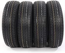 MILLION PARTS Set of 4 ST225/75R15 ST225/75-15 Radial Trailer Tires 8PR Load Range D