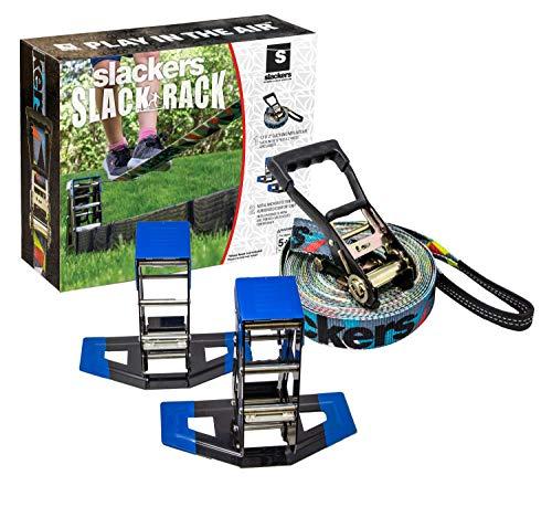 Slackers Portable Slackline Rack w/ 12' Slackline