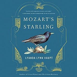 Mozart's Starling audiobook cover art