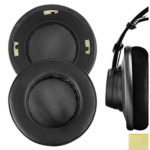 Geekria QuickFit Protein Leather Replacement Ear Pads for ÂKG, K701, K702,...