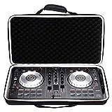 Funda rígida de EVA para el control de DJ Traktor Kontrol S4 Mk3 con correa, bolsa de viaje productiva, color negro