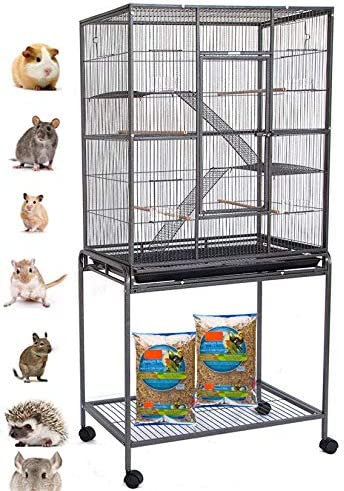 New OFFicial York Mall Large Wrought Iron 4 Levels Sugar Glider R Ferret Chinchilla