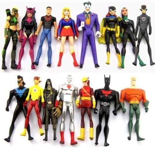 15 Young Justice Super Hero DC Universe Action Figure Set