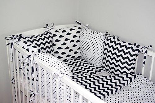 Baby's Comfort Tour de lit 6 coussins 35x210cm (couleurs 28-54) (3)