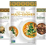 Global Gourmet Spice Blends for Home Cooking (Pack of 6) Seasoning Pack For Instant Pot, Crock pot, Slow Cooker, and One Pot Meals - Non GMO, Low/No Salt, Gluten Free, Keto Friendly Seasoning, Paleo