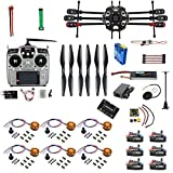 QWinOut Full Set Helicopter Drone 6-axle Aircraft Kit Tarot 680PRO Frame 700KV Motor GPS APM 2.8 Flight Control AT10 Transmitter