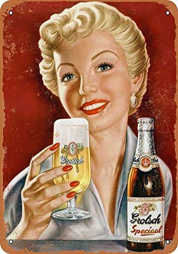 niet Grolsch Speciaal Bier Tin Metalen Teken Plaque Vintage Retro IJzeren Muur Waarschuwing Poster Decor Voor Bar Café Winkel Thuis Garage Office Hotel