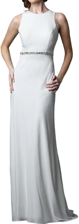Avril Dress Smooth Sleeveless Bridesmaid Formal Dress Belt 2016 for Wedding New
