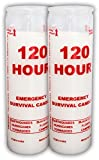 LOT of 2 - 120 Hour Emergency Survival Candle - Made in USA