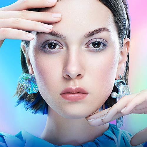 ZEESEA(ズーシー)ダイヤモンドシリーズマスカラ(青グレイ)6.5g/7ml自然に際立つまつげ速幹フィルム防水カールカラーマスカラ