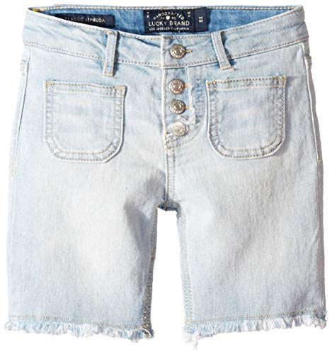 Lucky Brand Big Girls' Denim Bermuda Shorts, Vera Bella, 12