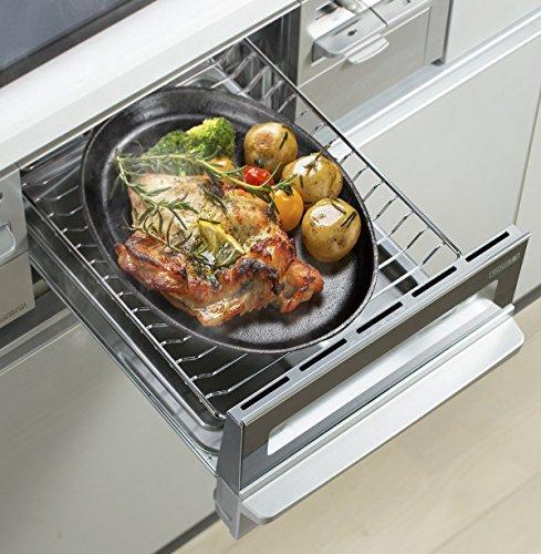 イシガキ産業『大判ステーキ皿鉄鋳物2枚組IH対応』