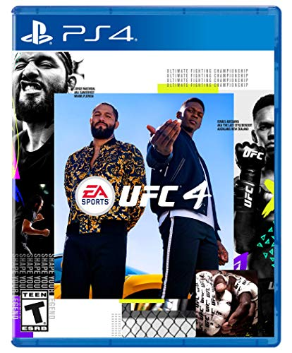 51gXdqdTHfL - EA SPORTS UFC 4 - PlayStation 4