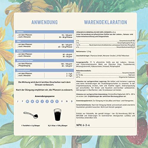 Plantura Bio Universaldünge - 4