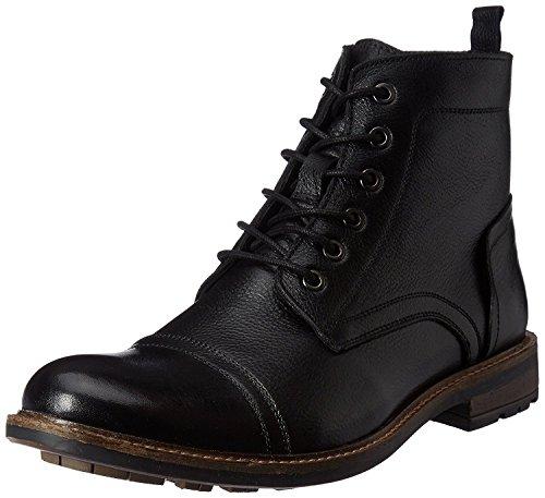 Saddle & Barnes Men's Black Boots - 9 UK (43 EU) (HS-44)