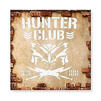 バレット クラブ Bullet Club 木製 額縁 フォトフレーム 壁掛け 木製 横縦兼用 絵を含む 40×40cm