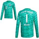 adidas FCB FC Bayern München Torwartshirt Heim Torwarttrikot 2019 2020 Kinder Neuer 1 Gr 152