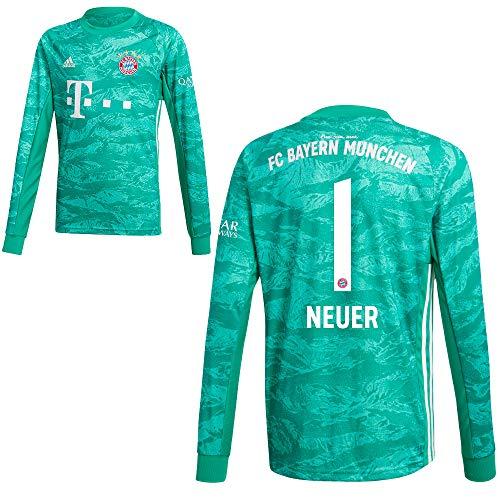 adidas FCB FC Bayern München Torwartshirt Heim Torwarttrikot 2019 2020 Kinder Neuer 1 Gr 176