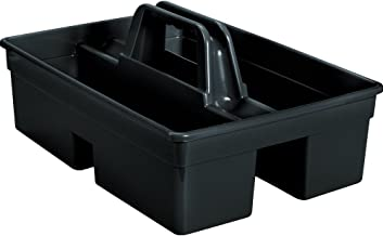 Rubbermaid Commercial 1880994 Executive Series Carry Caddy, Black